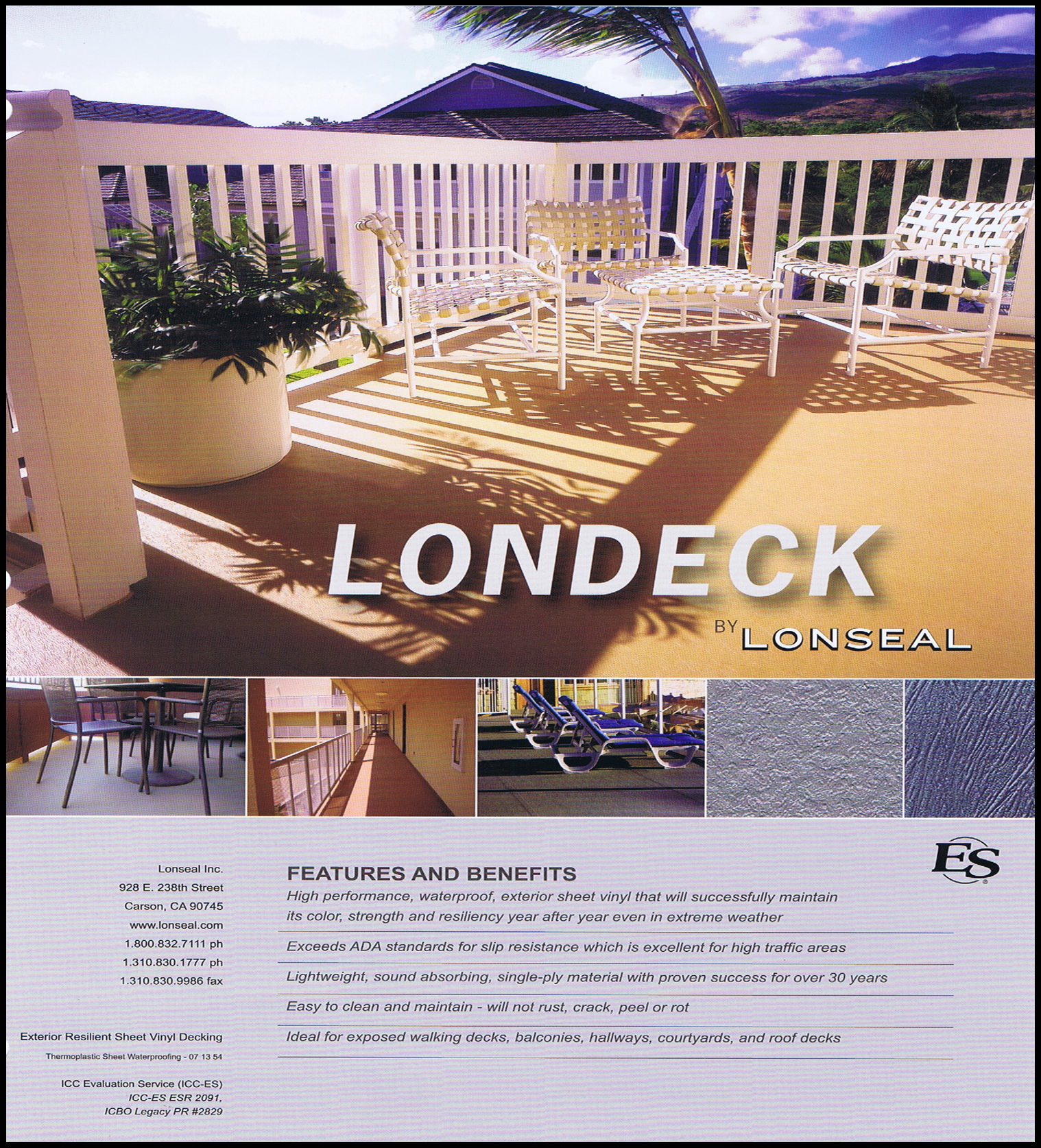 Londeck technical information 1